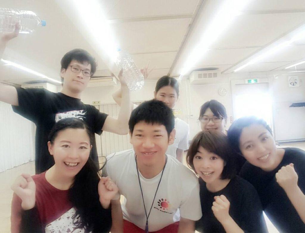 劇団熱血天使トレーニング指導に行ってきました!!